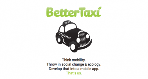 Cutting Costs With 'Green' Cab-Sharing App BetterTaxi