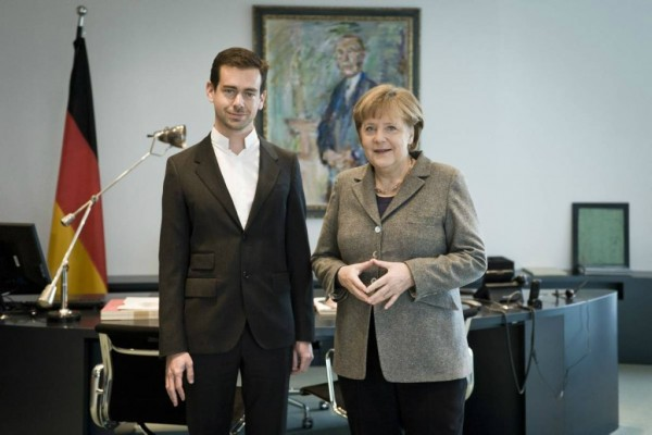 Merkel Set to Join Twitter Following Jack Dorsey Talk?