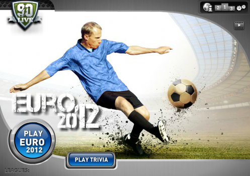 Crowdpark Gamble on Euro 2012 with 90Live