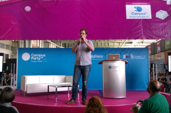 Campus Party's First Day Goes Down Nicely