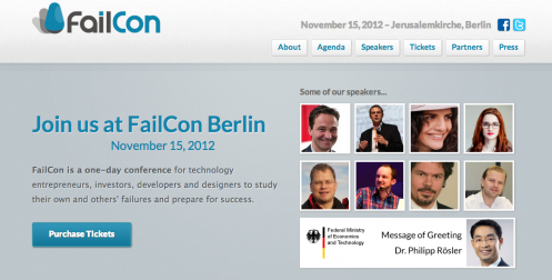 Philipp Rösler Backs FailCon with Message of Support