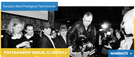 Europas Tech Awards Set For Berlin Bash in 2013