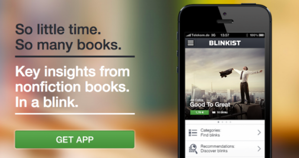 Changing the Format of the Book: Blinkist Launches iOS App