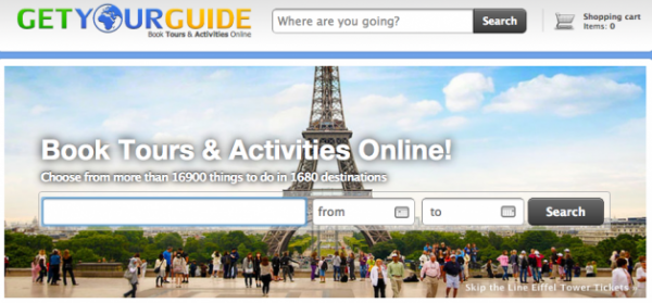 Travel Activities Platform GetYourGuide Closes $14m Series A Round