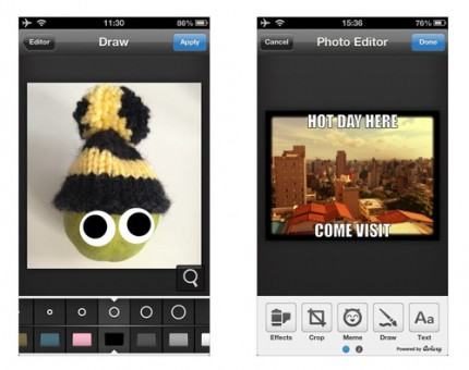 Fun with Photos: Moped Adds Aviary Editor to Messaging Apps
