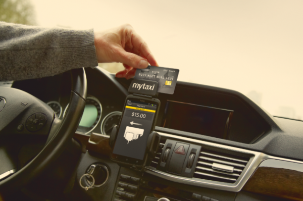 MyTaxi Joins Mobile Payment Wars with Device for Cab Drivers