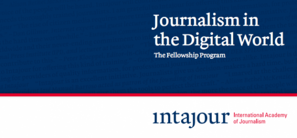 Intajour Program Promoting Digital Journalism in Hostile Countries