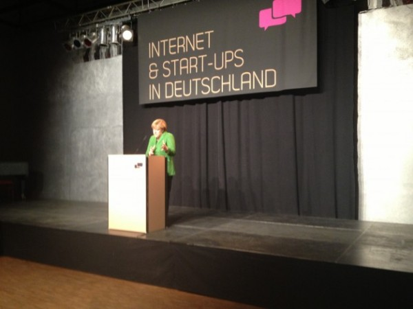Merkel Dazzles Startup Crowd But Stops Short of Major Change