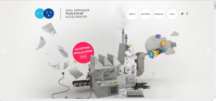 Axel Springer Plug and Play Confirms Location; Links Up with Betahaus