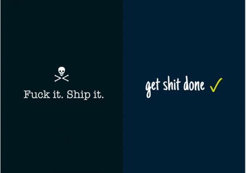 """Get Sh*t Done"" with Squaredo's Motivational Startup Posters"