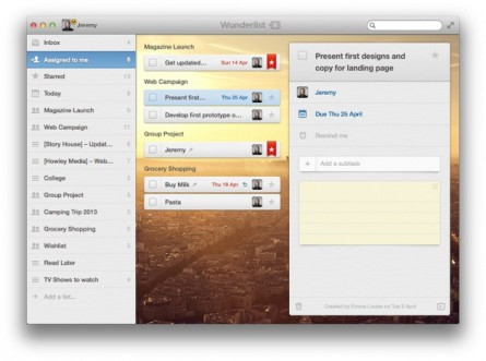 6WK Promises New Files Feature as Wunderlist Pro Launches