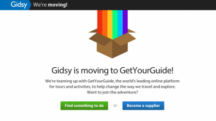 GetYourGuide Acquires Rival Activity Marketplace Gidsy