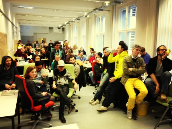 Making Eyes at the Valley and Changing Corporate Culture: A Berlin Hackathon