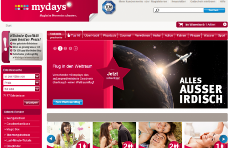 SevenVentures Acquires 'Experience Gift' Platform mydays