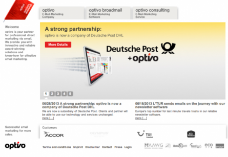 … And Now Deutsche Post Acquires Email Marketing Firm optivo