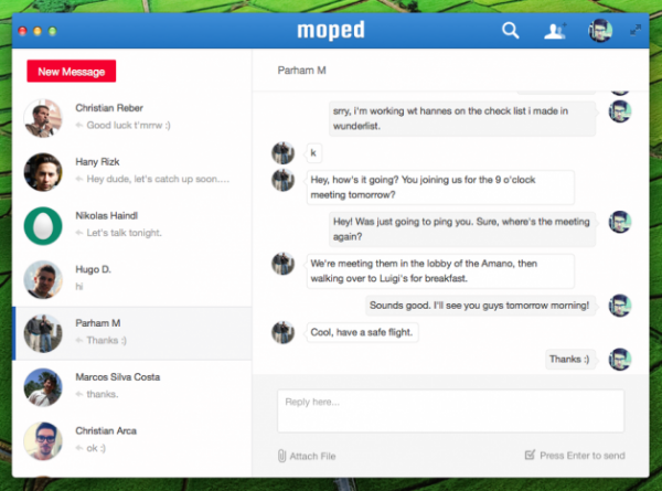 Moped Launches Desktop Messaging App in Pursuit of Businesses