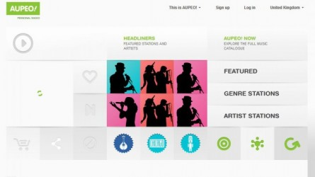 Aupeo! Relaunches Music Streaming App in Las Vegas