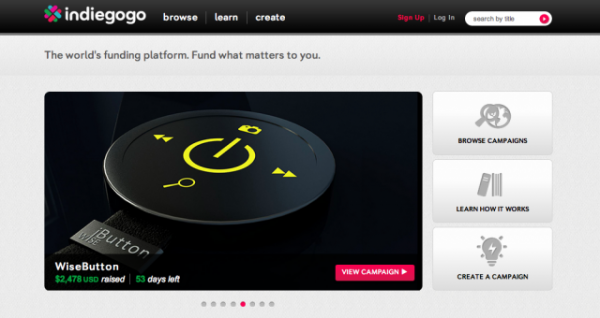 'Android of Crowdfunding' Indiegogo Raises $40m Series B