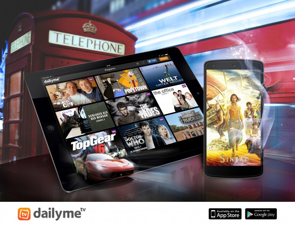 Free TV App dailyme Adds More BBC Shows – and in English