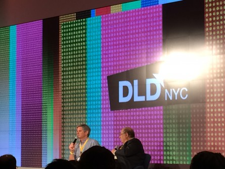 The Past, Present of Future of the Internet at DLD in New York