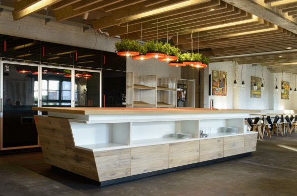 Check Out the First Pics of SoundCloud's Swanky New Office in the Factory