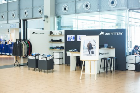 Pilot Project: Outfittery Opens Concept Store at Hamburg Airport