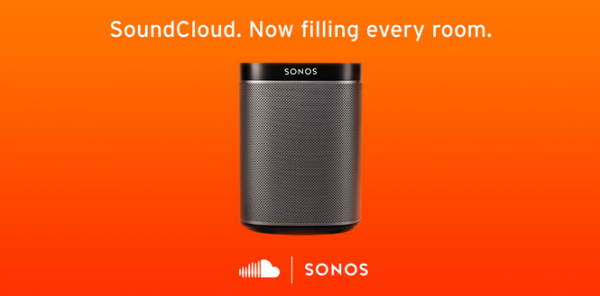SoundCloud Launches Integration With Wireless HiFi System Sonos
