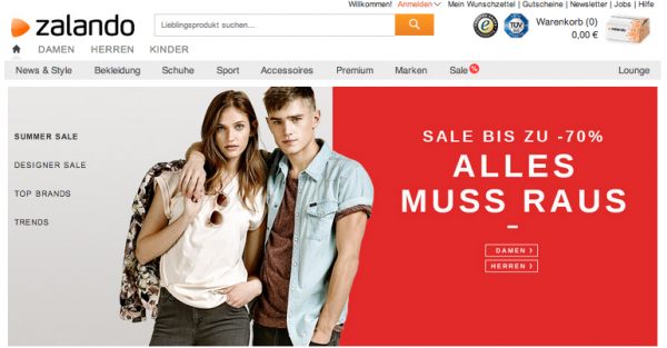 Zalando to IPO on Frankfurt Stock Exchange Later This Year