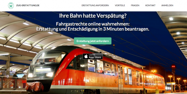 Train Delayed? Find the Right Platform for Compensation with Zug-Erstattung.de