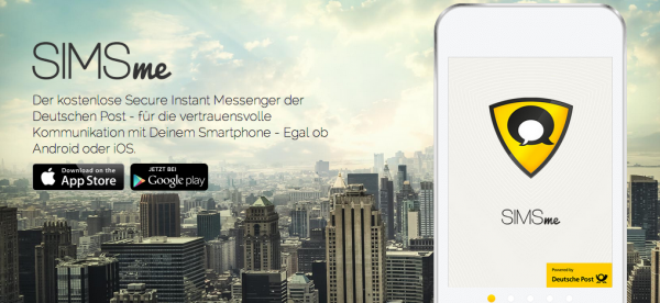 Deutsche Post Launches Secure Messaging App SIMSme with Data Staying on German Servers