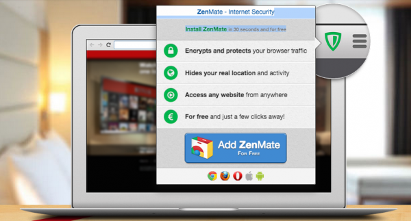 ZenMate Closes $3.2m Series A Led by Holtzbrinck, Launches on Firefox