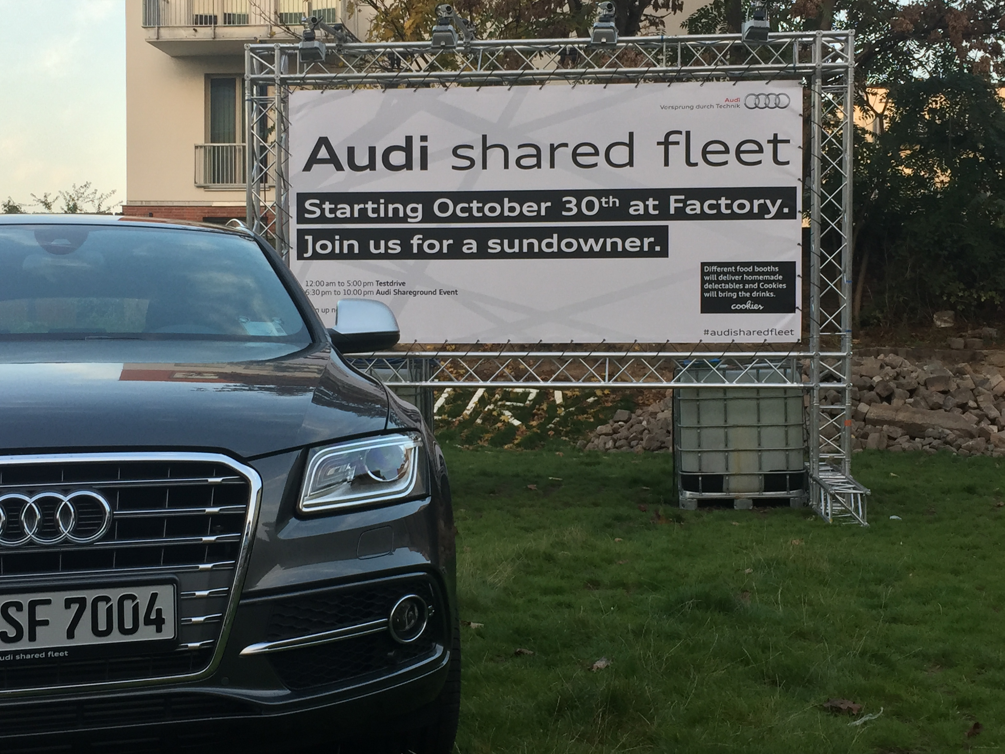 Carsharing City Audi Shared Fleet Targets Company Car Market - Audi sf