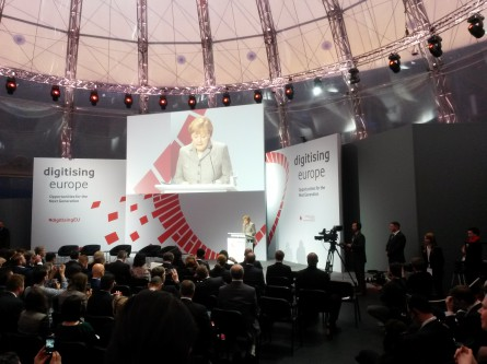 The Meat on the Bones of Germany's Digital Policy: Merkel at Digitising Europe